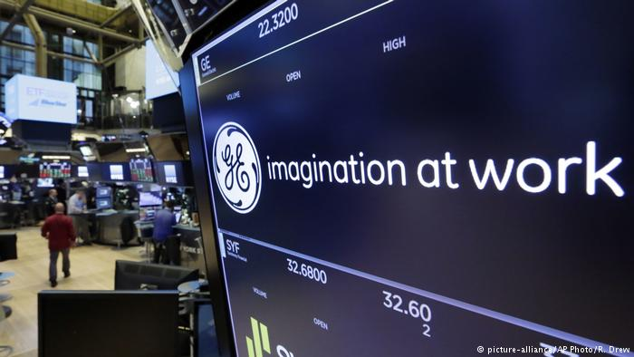 General Electric Stock Ticker